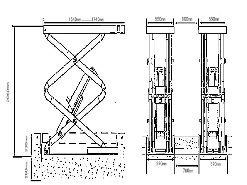 инструкция по эксплуатации ножничного подъемника - фото 8