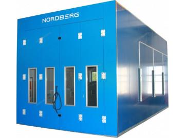 Окрасочно-сушильная камера с дизельной горелкой RG5S NORDBERG MEDIO 2